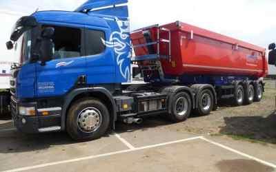 Самосвальный полуприцеп Scania - Оренбург, заказать или взять в аренду
