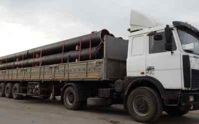 Аренда длинномера для перевозки труб, стройматериалов - Оренбург, заказать или взять в аренду