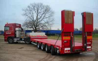 Перевозка негабаритных грузов низкорамными полуприцепами по РФ - Оренбург, заказать или взять в аренду