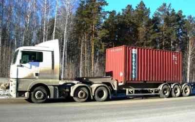 Полуприцеп, тягач MAN, Volvo - Оренбург, заказать или взять в аренду